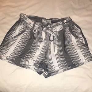 Only worn a few times! Striped shorts